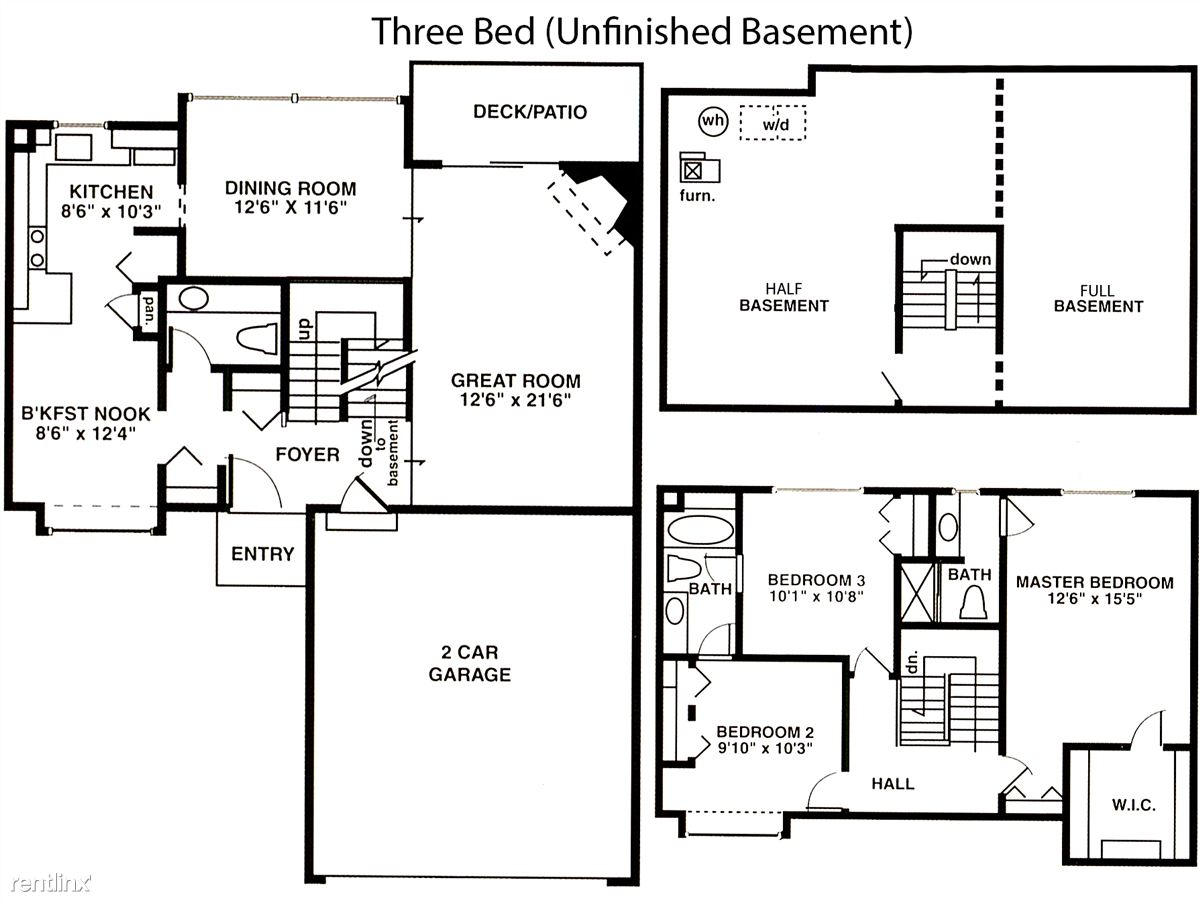 3 Bed Unfinished
