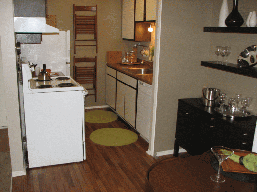 Upgraded flooring and countertops available!