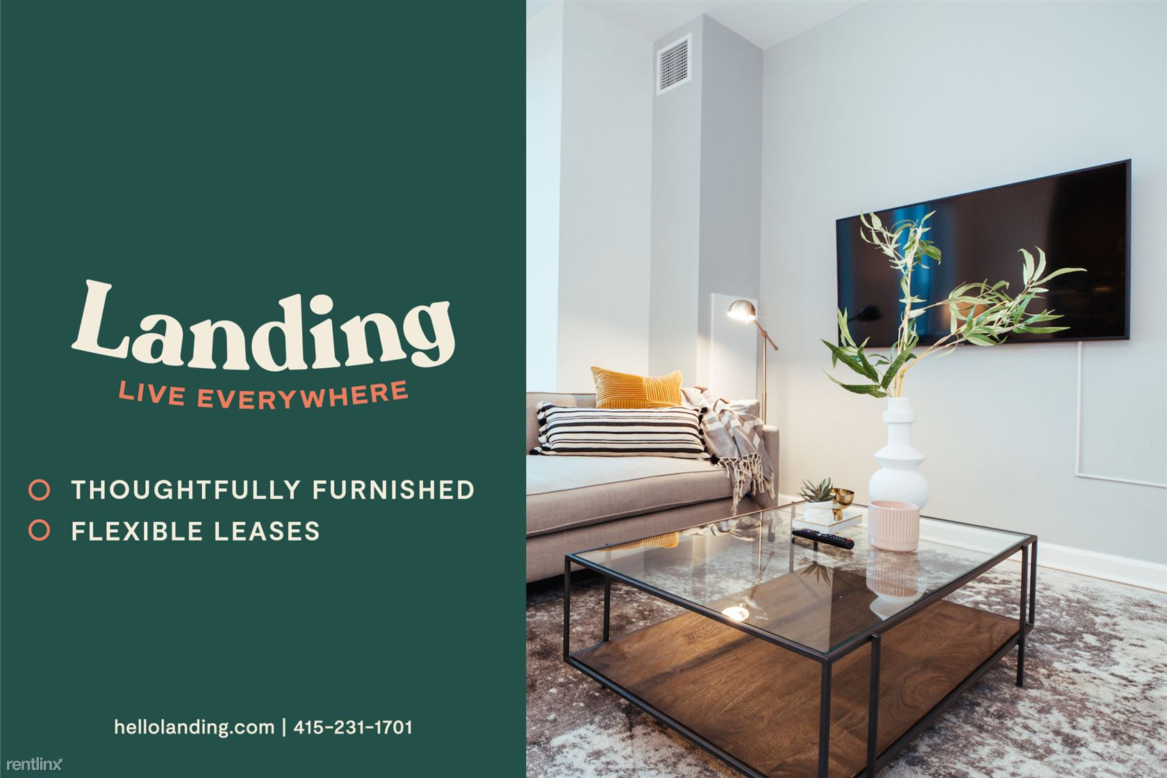 Landing Furnished Apartment Four Winds Apartments