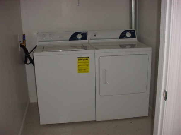Laundry room (in each apartment)
