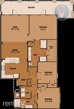 1661 three bedroom