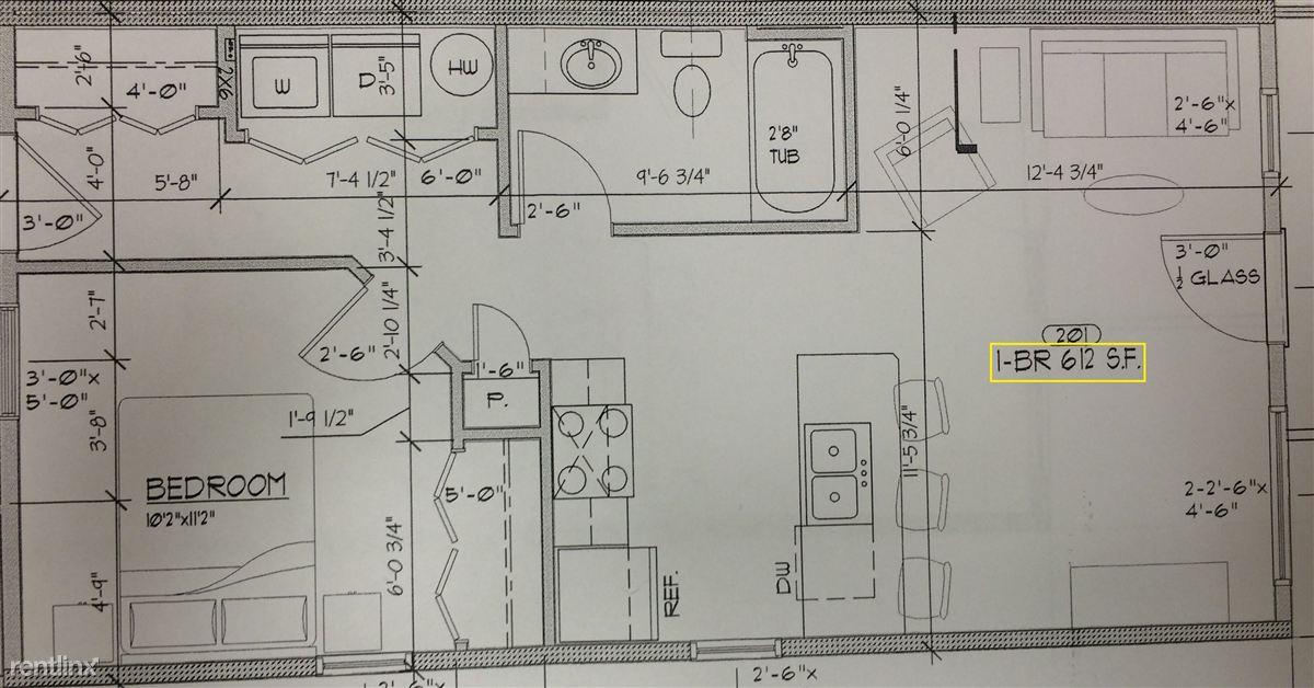 1 bed fourplex