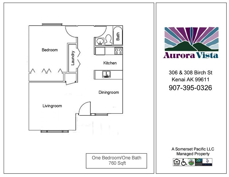 AURVT-One Bedroom FP