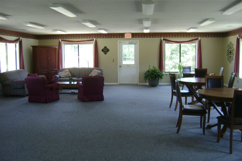 Community Room Available for resident gatherings and private events!