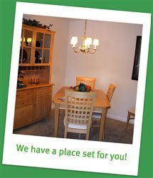 We have a place set for you!