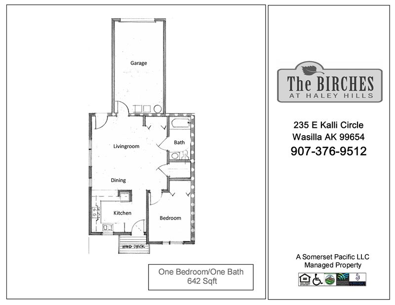 BIR-One Bedroom FP 2
