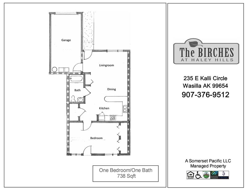 BIR-One Bedroom FP 3