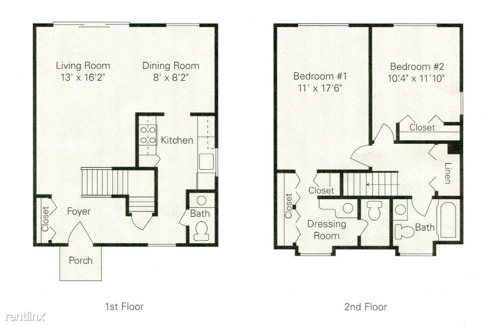 2TH Floor plan