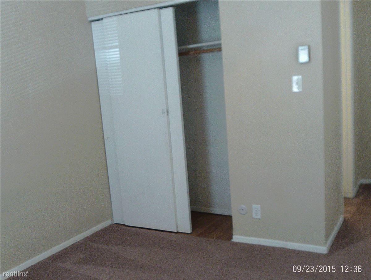 Upstairs closet
