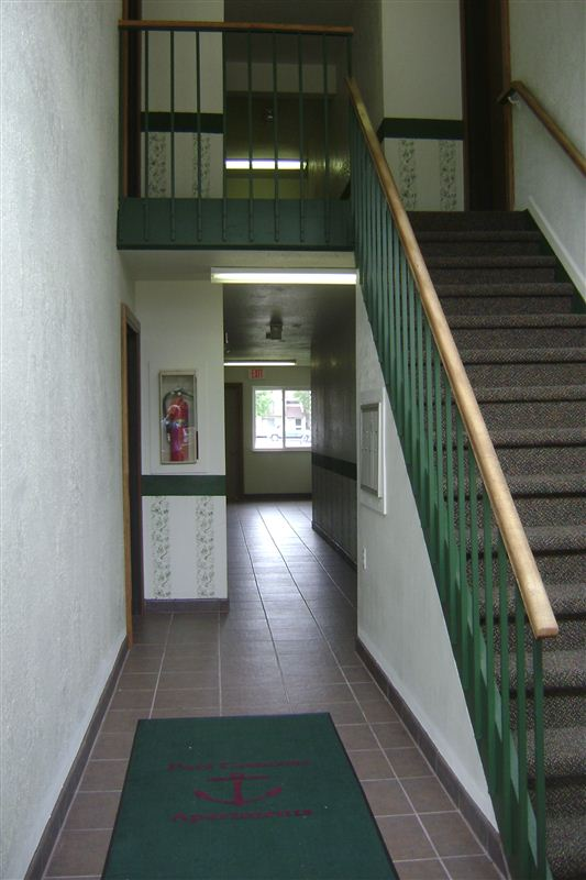 Well Kept Covered Hallways