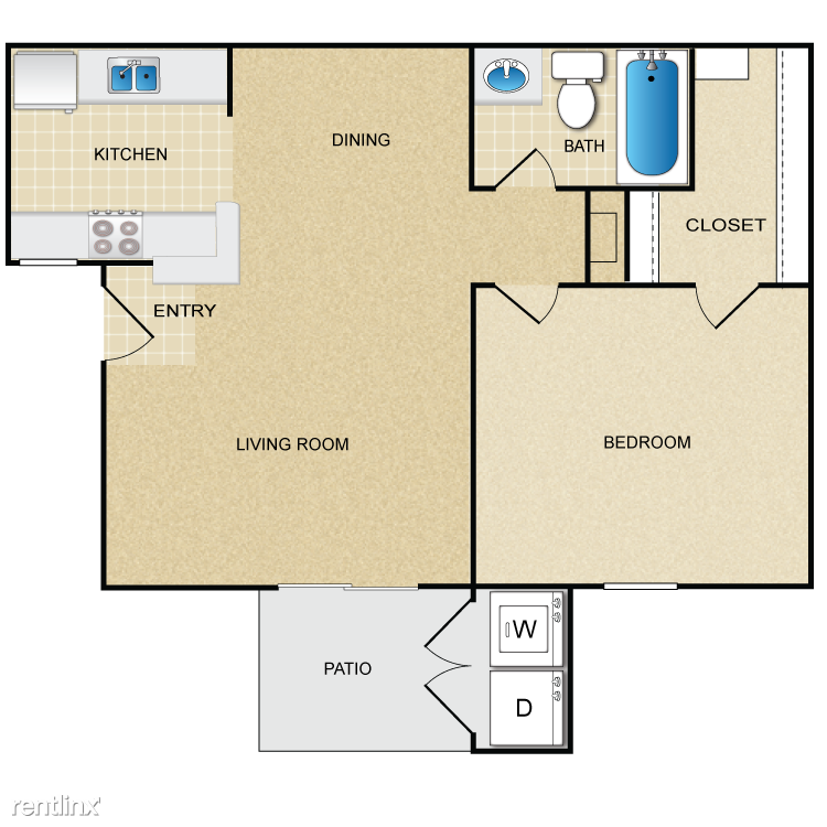 Plan-1B Floorplan
