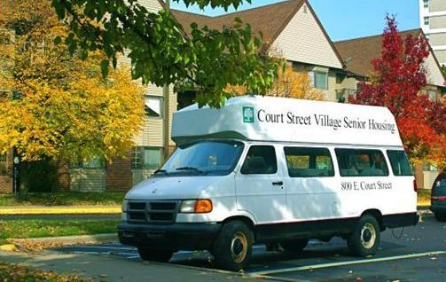 Court Street Village Van