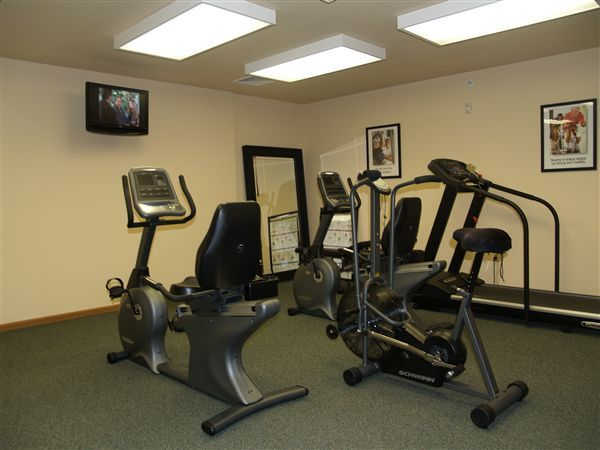 Our Fitness Center is always open