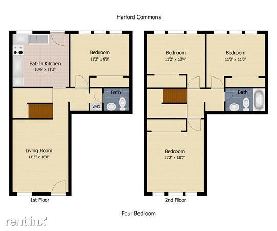Four bdrm floor plan