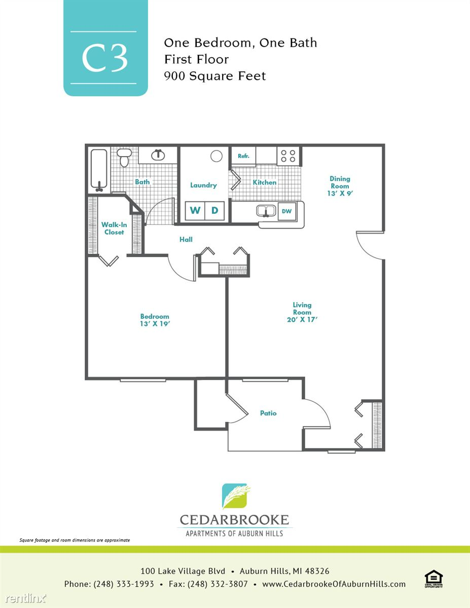 Cedarbrooke FloorPlan InsertC3