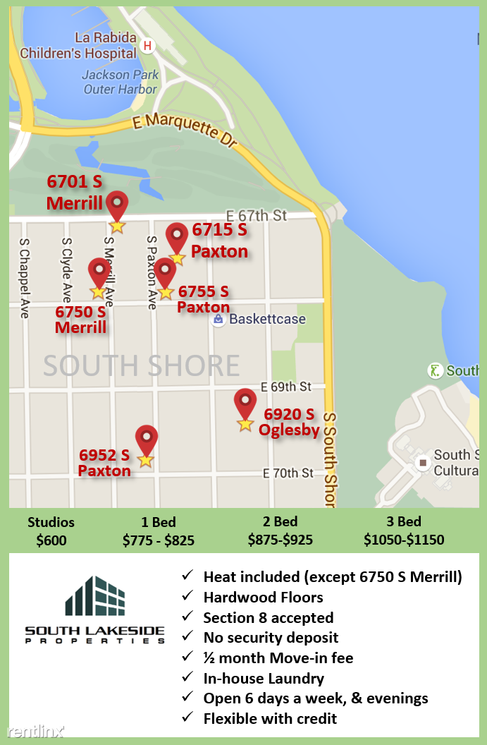 southlakeside building locations