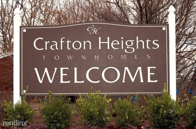 Crafton Heights Townhomes Welcome Sign