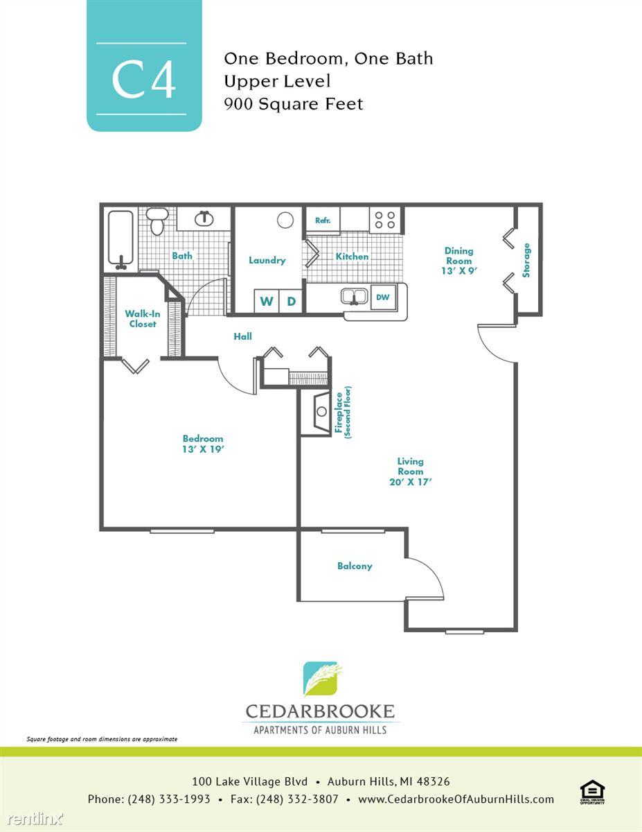 Cedarbrooke FloorPlan InsertC4