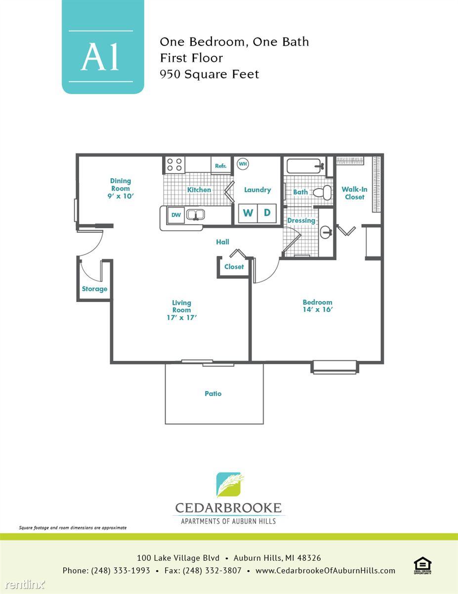 Cedarbrooke FloorPlan InsertA1