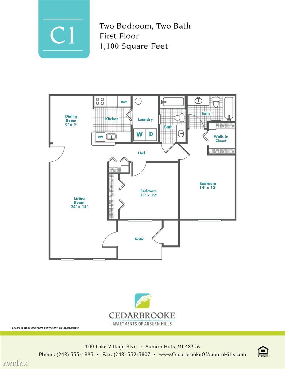 Cedarbrooke FloorPlan InsertC1