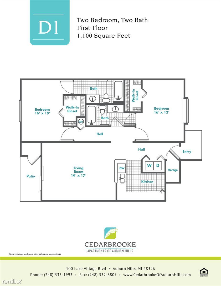 Cedarbrooke FloorPlan InsertD1
