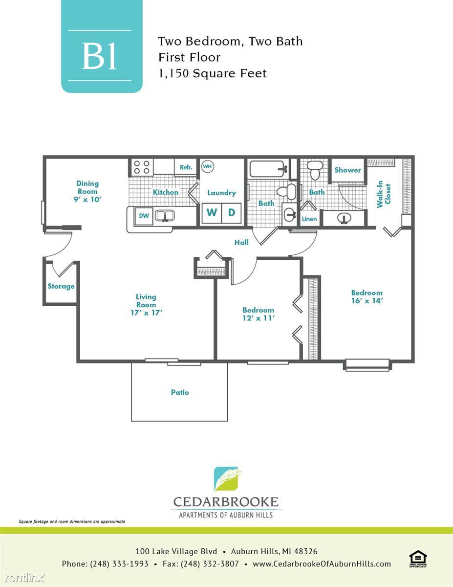 Cedarbrooke FloorPlan InsertB1
