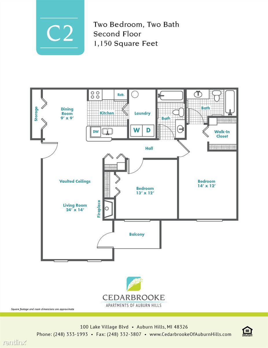 Cedarbrooke FloorPlan InsertC2