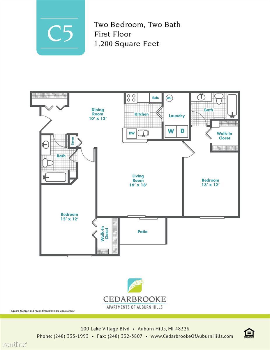 Cedarbrooke FloorPlan InsertC5
