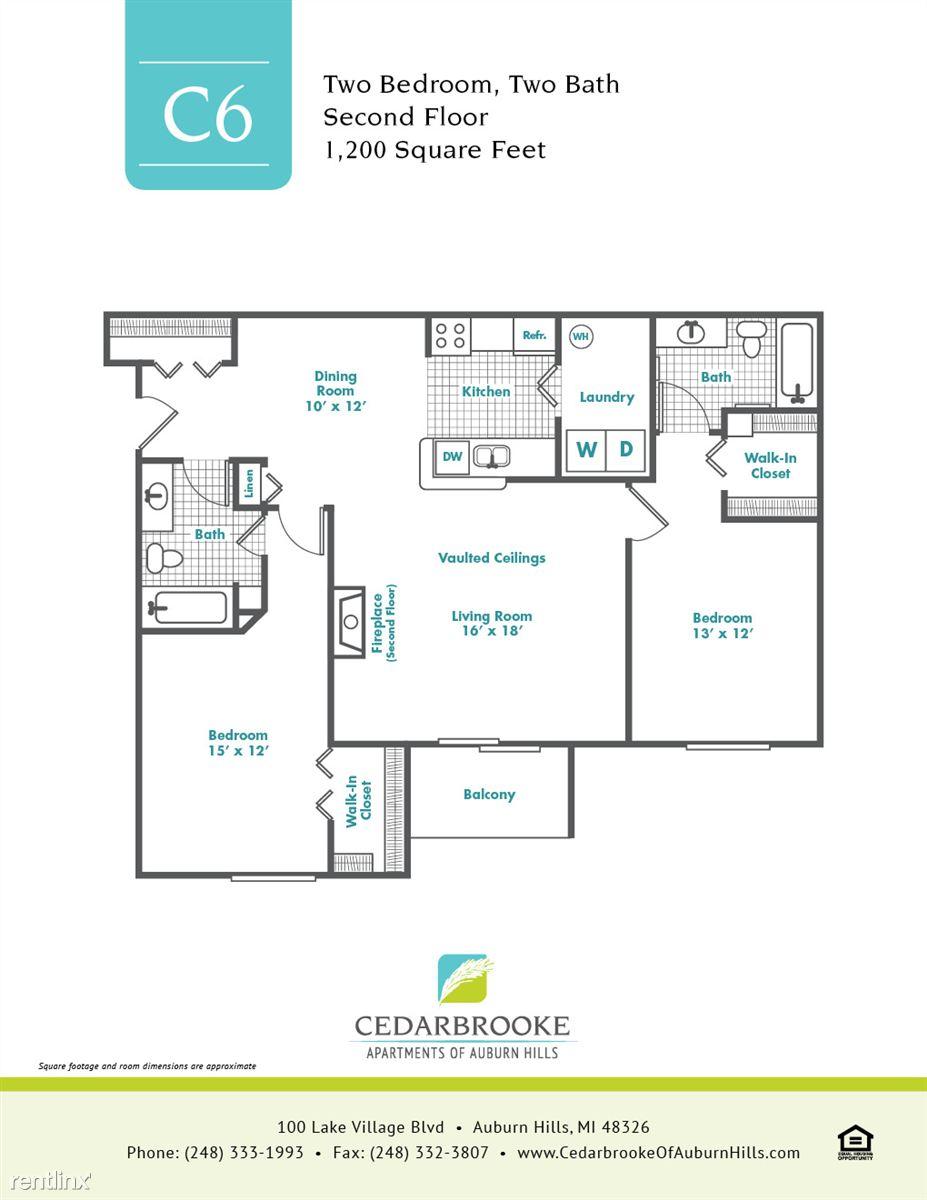 Cedarbrooke FloorPlan InsertC6