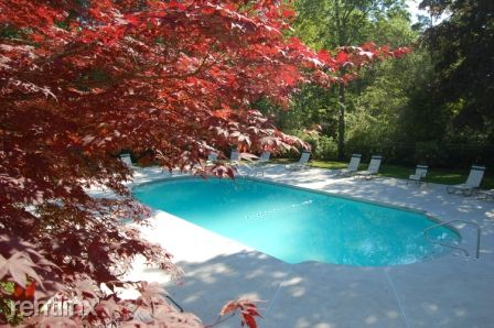 One of two pools