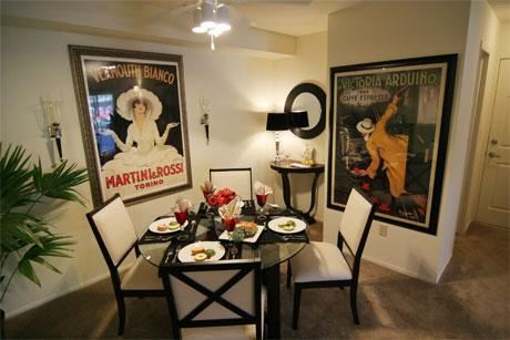 Bacall dining room