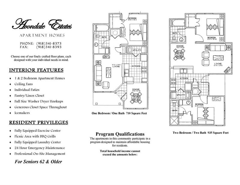 Avondale Estates Features and Floorplan