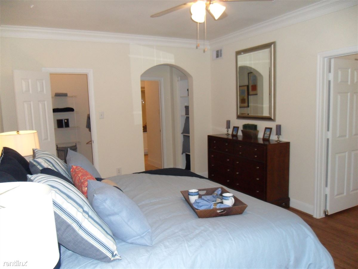 Master Bedroom with 2 closets! So amazing!