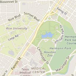 Hermann Dr., Hermann Park, Texas Medical Center 2