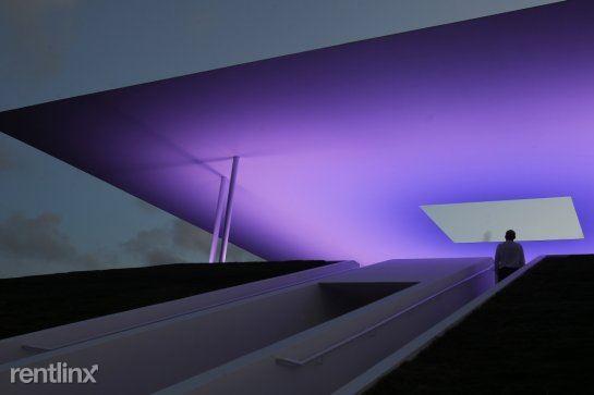 Rice University Skyspace at night