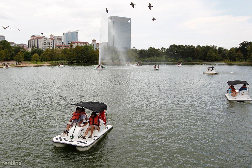 Hermann Park boat rentals