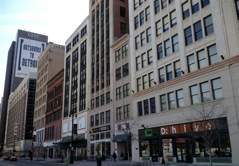 Value suites lofts of merchants row detroit see pics avail for Garden lofts at woodward place