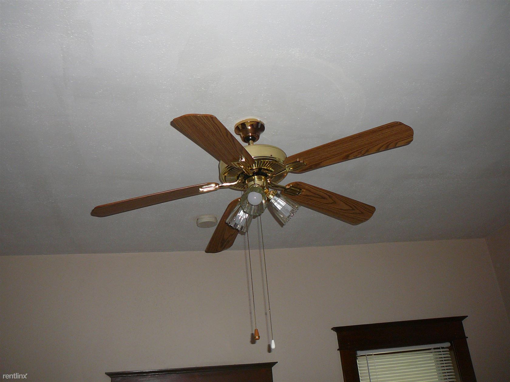 fan in living room