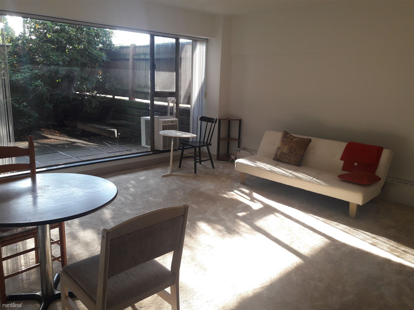 Sunny and beautiful living room.
