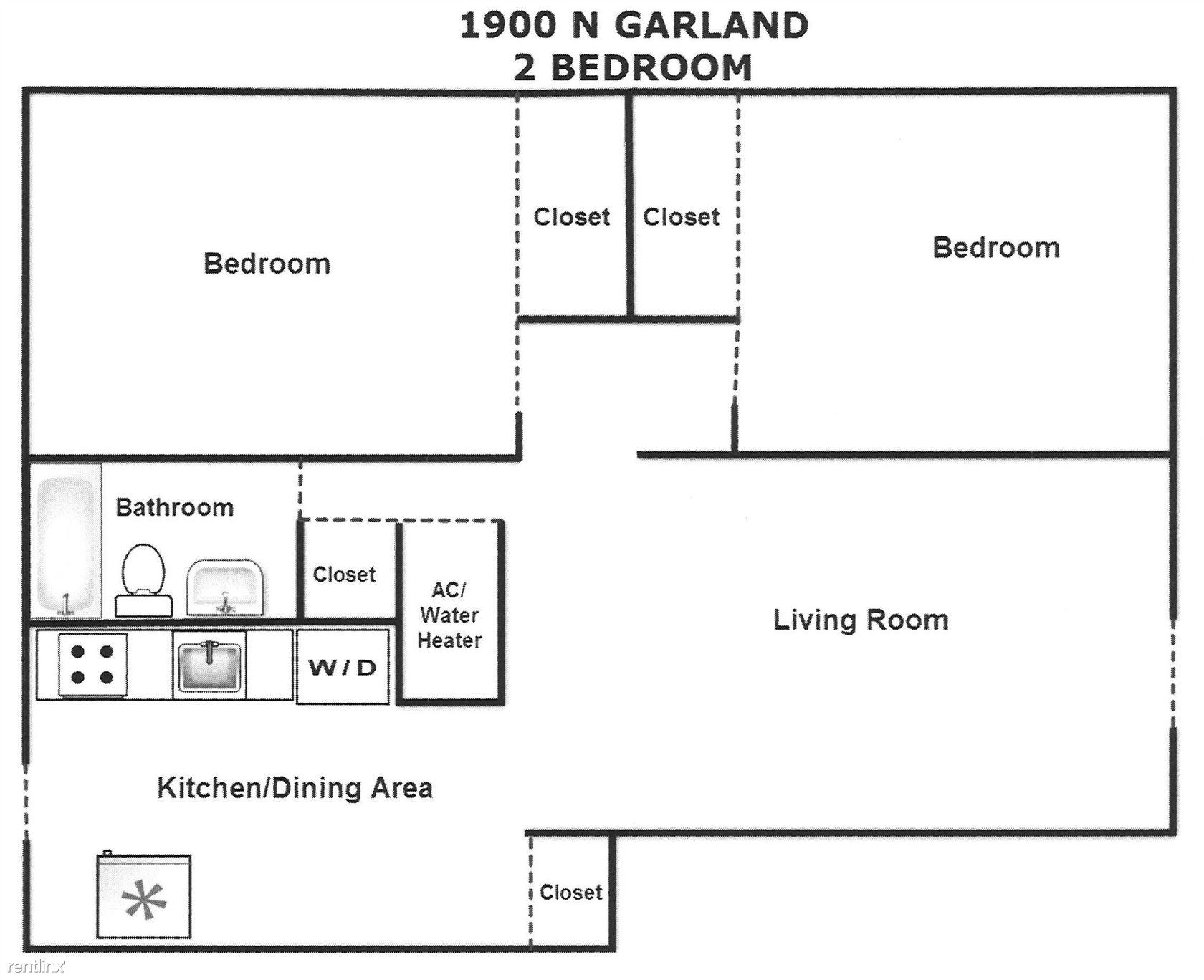 2 Bed Garland