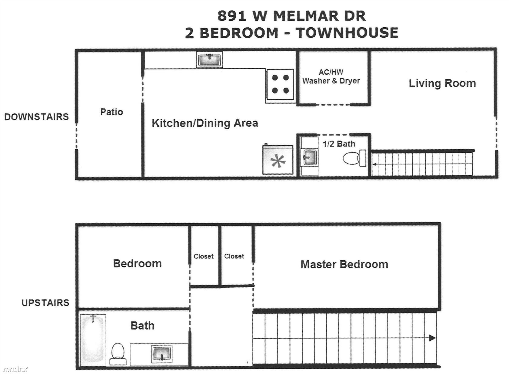 2 Bed Melmar-Town