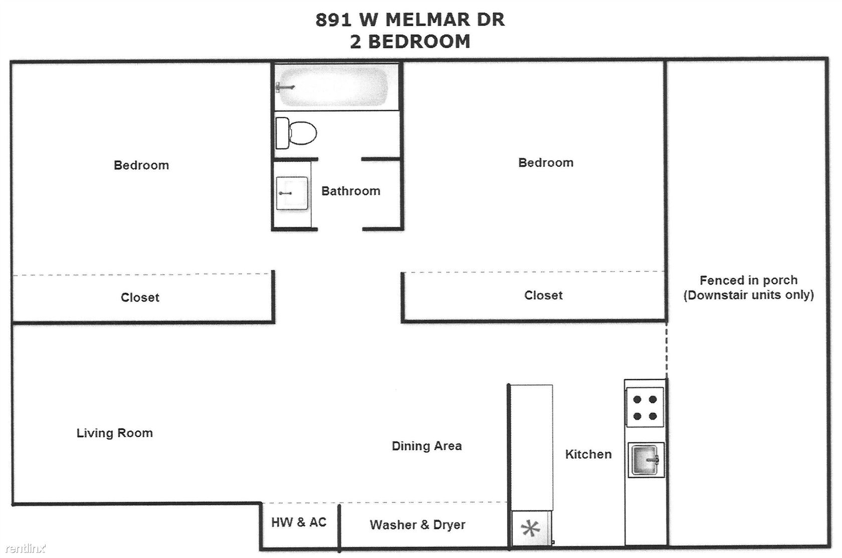 2 Bed Melmar