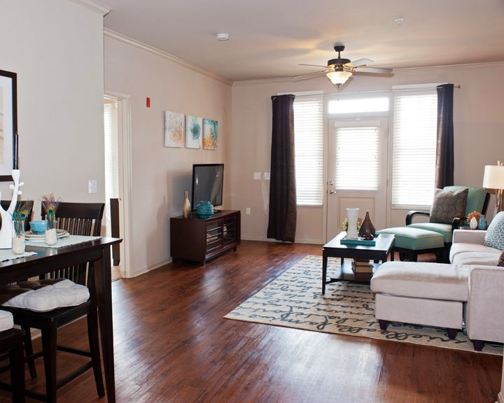 Gorgeous Wood Grain Flooring and Spacious Layouts