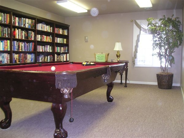 Library with Billiards
