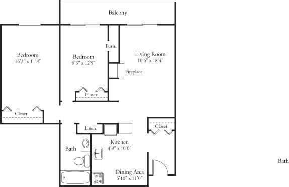 HV-2bed1bath