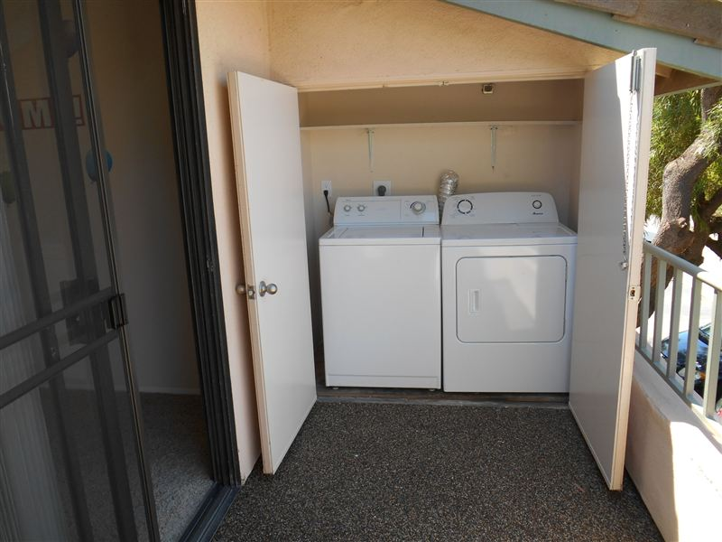 Full size washer & dryer in every apartment home!