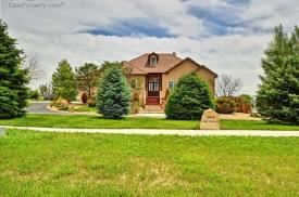 Custom built private home on 9 acres for rent in Vale View Subdivision