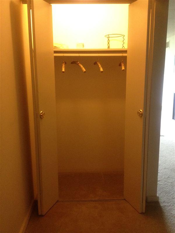 1 bedroom (front) closet