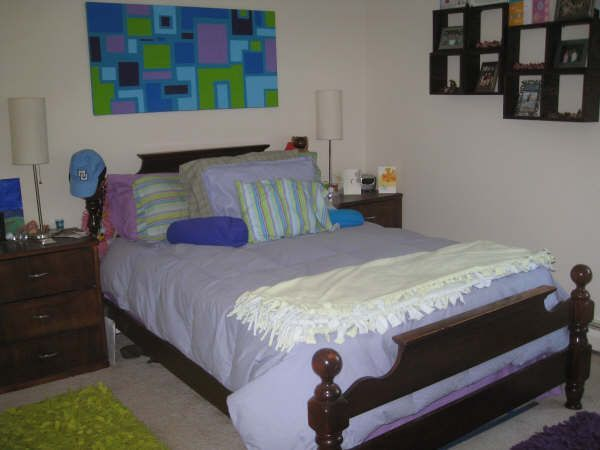 2 Bed 1 Bath Small Bedroom