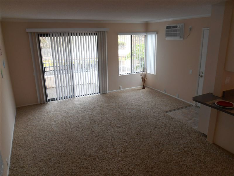 Fully Remodeled Living Room. In Select Apartments